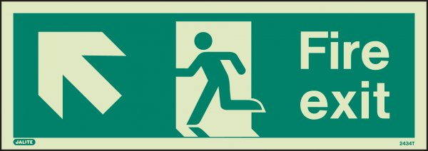 Fire Exit Up To The Left