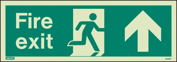 Fire Exit Up/Forwards